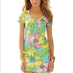 GUC Lilly Pulitzer Britton Henley Dress Size XL